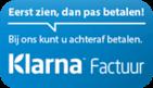 Betaal achteraf met een factuur via Klarna