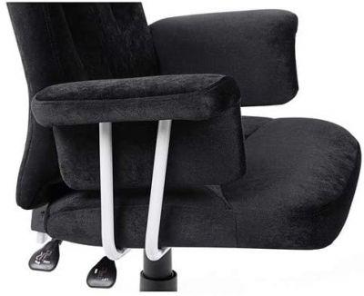 Draaibare Bureaustoel - Verstelbare zithoogte - Zwart