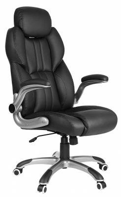 Luxe bureaustoel met verstelbaar hoofdsteun
