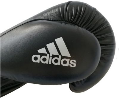 Bokshandschoenen Adidas Zwart/wit