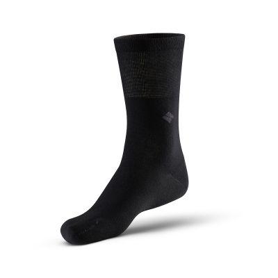 Bonnysilver Zilversokken diabetes sokken zwart