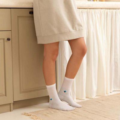 Bonnysilver zilversokken diabetes sokken dames 2