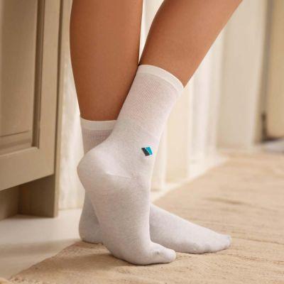 Bonnysilver zilversokken diabetes sokken dames 3