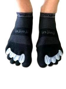 Klauwteen / Hamerteen spalk kunnen ook over sokken gebruikt worden