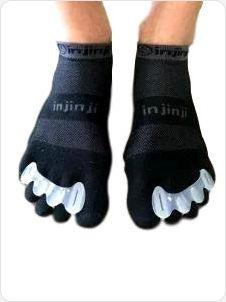 Correctoes kunnen ook over sokken gebruikt worden