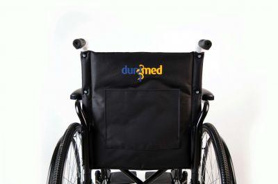 Dunimed Opvouwbare rolstoel met opbergvak