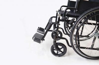Dunimed Opvouwbare rolstoel met voetensteunen