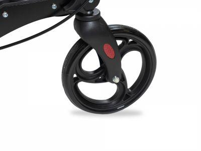 Premium rollator met PVC wielen