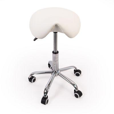 ergolution ergonomische zadelkruk zonder rugleuning wit kopen