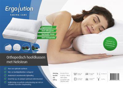 Ergolution Premium Orthopedisch hoofdkussen met neksteun