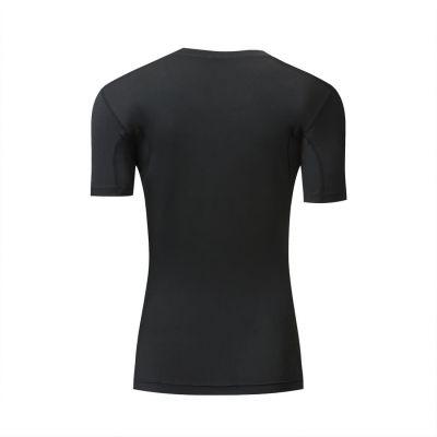 Gladiator compressie shirt zwart achterkant dames