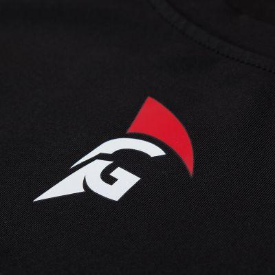 Gladiator compressie shirt zwart logo