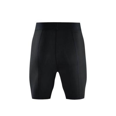 Gladiator Compressie broek / liesbroek zwart voorkant