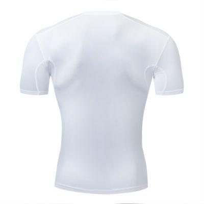 Gladiator Compressie shirt wit achterkant