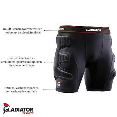 gladiator beschermbroek productoverzicht