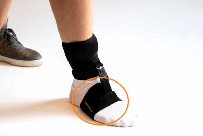 Novamed Klapvoet brace - Shoeless