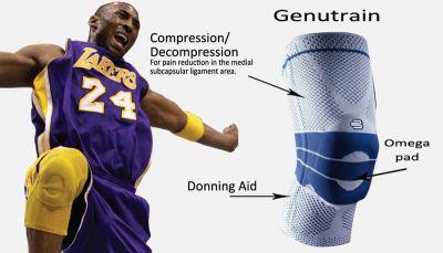 Bauerfeind GenuTrain Kobe Bryant