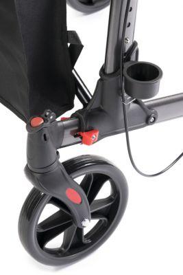 MultiMotion Rollator Lichtgewicht Dubbel Opvouwbaar