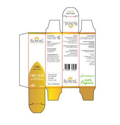 royoil cbd olie verpakking