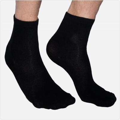 Solelution Sokken met siliconen gel hiel als paar