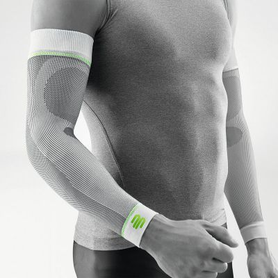 Bauerfeind Compression Arm Sleeve wit