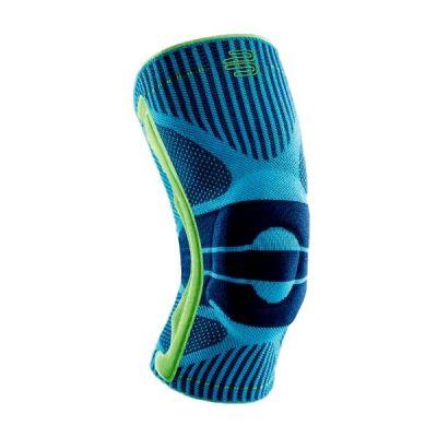 Bauerfeind Sport kniebraces riviera blauw