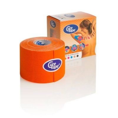 Cure Tape kinesiology tape Oranje