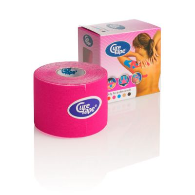 Cure Tape kinesiology tape Roze