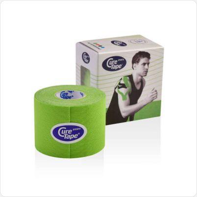 Cure Tape kinesiotape sports groen