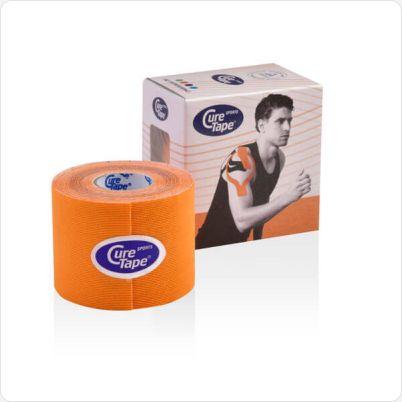 Cure tape sports oranje