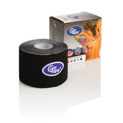 Cure Tape kinesiology tape Zwart