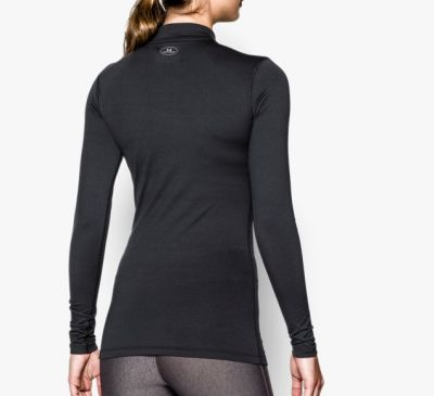 Under Armour ColdGear® Compressie Shirt dames zwart
