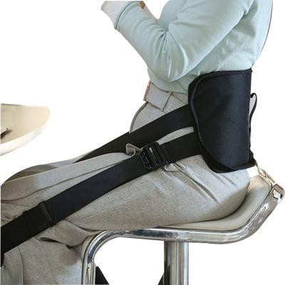 ergolution back-up ergonomische rugsteun ingezoomd op de rug