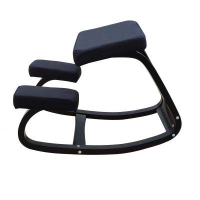 ergolution ergonomische kniestoel zwart