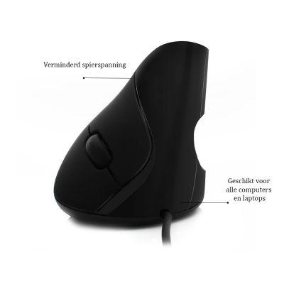 ergolution ergonomische verticale muis productinformatie