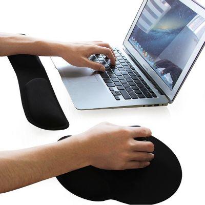 Ergonomische polssteun voor toetsenbord en muispad