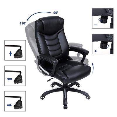 standen uitleg ergolution luxe design bureaustoel