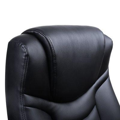 hoofdsteun en rugleuning van de ergolution luxe design bureaustoel