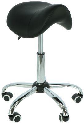Ergolution - ergonomische zadelkruk zwart