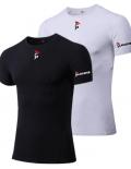 Gladiator Thermo shirt zwart en wit