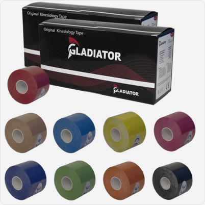 Gladiator Kinesiotape (12 rollen)