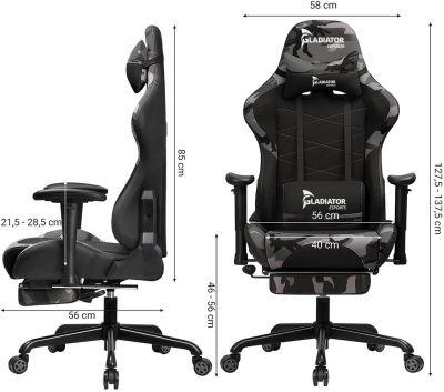 Gladiator ESports Gaming stoel