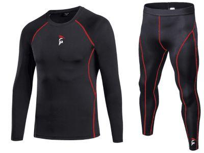 Gladiator Compressie shirt Lange mouwen en broek