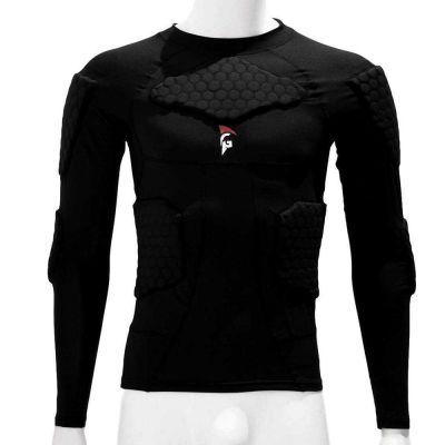 gladiator sports beschermings shirt ondershirt voor keepers van voren gefotografeerd