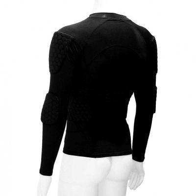 gladiator sports beschermings shirt ondershirt voor keepers schuin van voren gefotografeerd