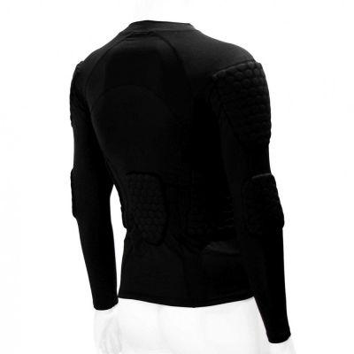 gladiator sports beschermings shirt ondershirt voor keepers schuin van achteren gefotografeerd