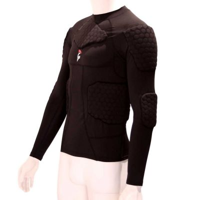 gladiator sports beschermings shirt ondershirt voor keepers uitgezoomd