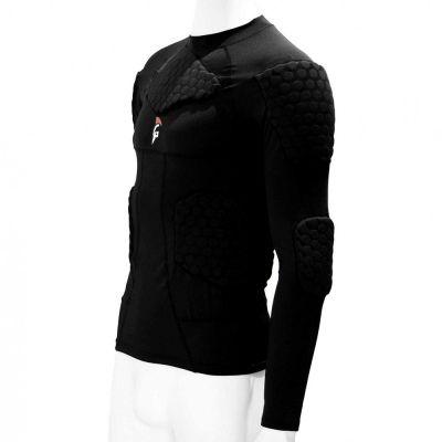 gladiator sports beschermings shirt ondershirt voor keepers ingezoomd