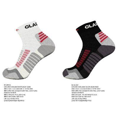 gladiator sports compressiesokken zwart en wit