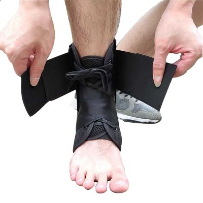gladiator sports enkelbrace lichtgewicht met straps brace los maken